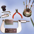 Metrovali micromètre en cours de réparation